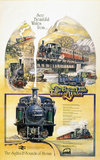 'See Beautiful Wales from the Great Little Trains of Wales', poster, c 1970s.