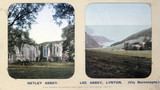Netley Abbey, Hampshire, and Lee Abbey, Lynton, Devon, 1910s.