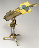 Gregorian reflecting telescope, 1763-65.
