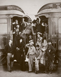 Wealthy rail pasengers, August 1876.