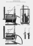 Trevithick's high-presure steam engine, 1803.