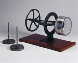 Equipment for spinning viscose rayon, 1901.
