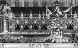 Funeral of King Philip V of Spain, 1746.