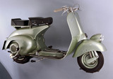 'Vespa' 125 scooter, made by Piaggio, Italy, 1948.
