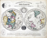 'Geographical Diagram of the Earth', 1846.