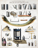 'Illustrations of Natural Philosophy - Hydrostatics', 1850.