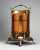 Early electric fire, 1900-1920.