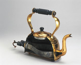 'Electric copper kettle, with immersed element, sectioned, c 1921.