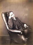 Lewis Carroll, English writer, self-portrait, c 1860s.