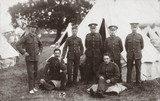 Soldiers of the 4th Battalion, Essex Regiment, Maldon, Esex, 1914-1918.