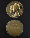 Edith Cavell and Marie Depage, medal, 1919.