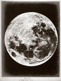 The Moon 'a Little after Full', 1868.