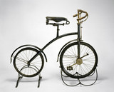 'Bantam' bicycle with crypto epicyclic gear to front hub, c 1893.
