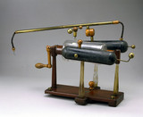 Electrotherapy equipment, c 1800.