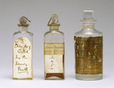 Set of chemicals for the wet-plate proces,