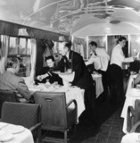 A newly built British Railways buffet