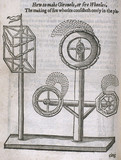 Fire wheels, 1635. Engraved plate taken fro