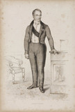 Guillaume Dupuytren, French surgeon and designer of surgical instruments, 1836.