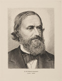 Gustav Kirchhoff, German physicist, mid-19th century.