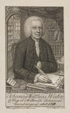 Johann Matthias Wahn, German mathematician, c 1792.