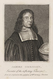 James Gregory, mathematician, c 1670.