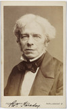 Michael Faraday, English chemist and physicist, c 1850s.