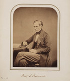 Theophilus Redwood, Welsh chemist, 1854-1866.