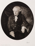 Immanuel Kant, German philosopher, c 1770-1800.