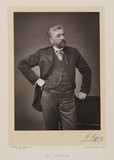 Gustave Eiffel, French civil engineer, 1880s.