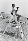 Lifeguard on the Susex coast, July 1983.