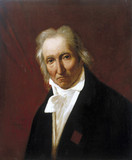 Joseph Marie Jacquard, inventor of the Jacquard loom, 1839.