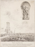 'Tour de Calais'; the ascent of De Rozier's 'Royal Balloon', 15 June 1785.
