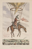 'Modern Balooning (sic), or the newest phase of folly', 19th century.