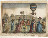 Lunardi's second balloon, 29 June 1785.