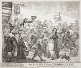 'Signor Lunardi's Grand Triumphal Entry', 13 May 1785.