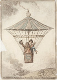 'The National Parachute', 1802.