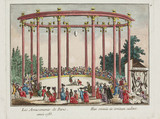 'The Amusements of Paris', 1783.