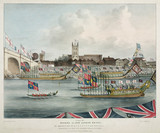 'Opening of the New London Bridge', 1 August 1831.