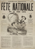'National Fete', France, 30 June 1878.