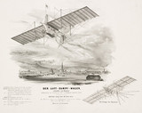Henson's 'aerial Steam Carriage', c 1842.