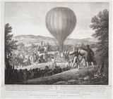 Cornillot's ascent from Seal in Kent, 23 August 1825.