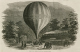 'Ascent of Mr Green's Balloon on Wednesday Night', 1844-1852.