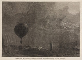 'Ascent of Mr Coxwell's Great Balloon from the Crystal Palace Grounds',