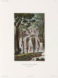 Waterfall at Port Praslin, New Ireland (now Papua New Guinea), 1822-1825.