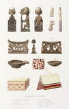 Artifacts from New Guinea, 1822-1825.