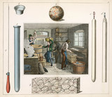 The soap boiler and candle maker, 1849.