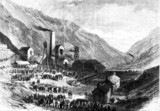 Colliery disaster at Ferndale, Rhondda valley, Wales 1867.