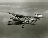 HP42 G-AAGX 'Hannibal' in flight, 1930.
