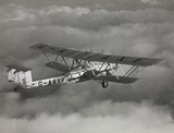 HP42 G-AAXF 'Helena' photographed in flight above the clouds, c 1930s.