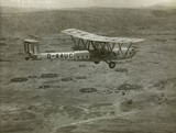 HP42 G-AAUC 'Horsa' flying over the Sudan, Africa, c 1930s.